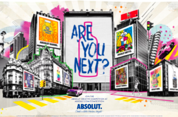 Грант: Absolut Creative Competition