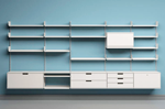 Shelving system for Vitsœ by Dieter Rams, 1960