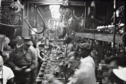© Robert Frank. Детройт, 1950-е