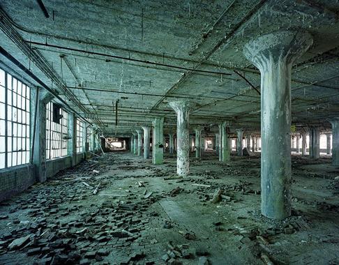 © Yves Marchand & Romain Meffre. Детройт, 2000-е