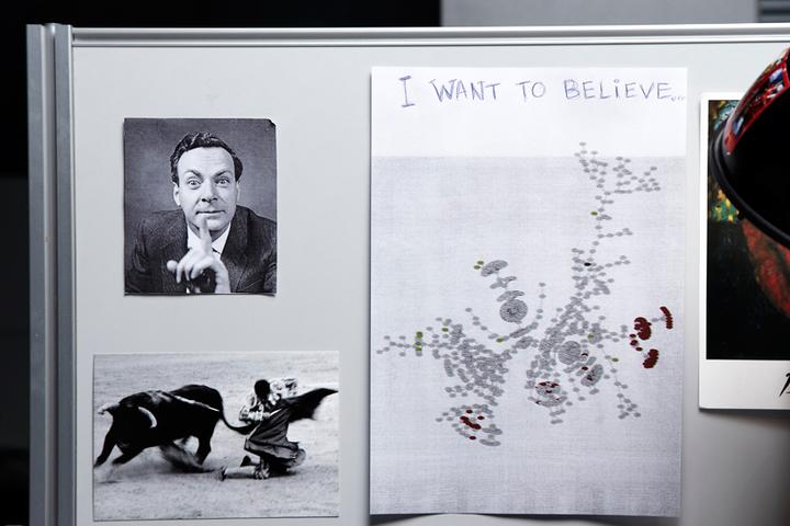 «Мужик нафотографии —Ричард Фейнман. Очен...