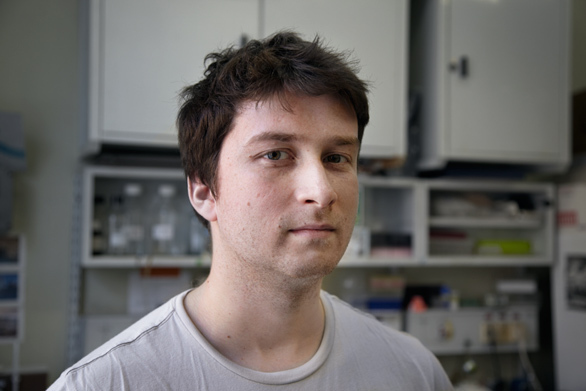 Молодые ученые: *биолог Юра Стефанов*