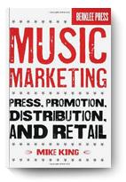 Mike King, Music Marketing