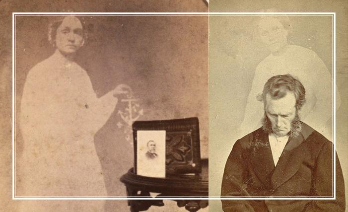 Cпиритический фотограф Уильям Мамлер (1832-1884).