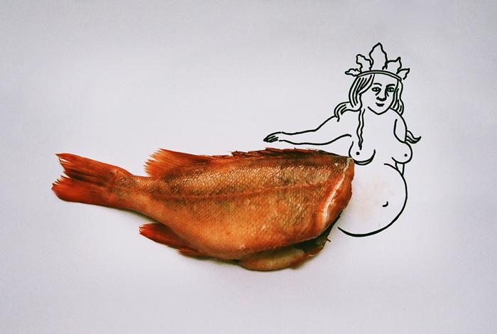 Диалектика рыбы: *зависть к животным, образ монстра и необходимость революции*