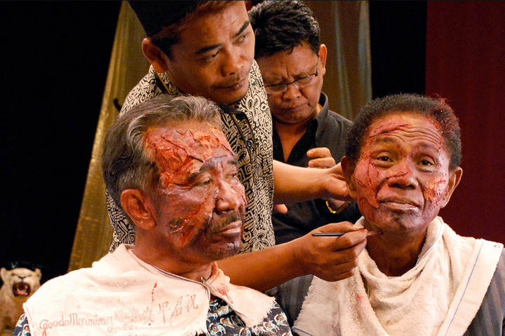 кадр изфильма «Акт убийства»