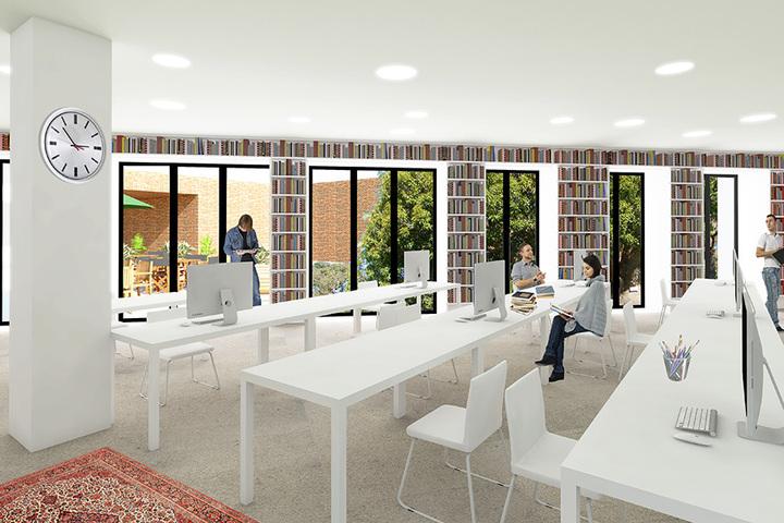 «Мы хотим сделать городскую гостиную для местных жителей»: *Олеся Шмагун о реорганизации библиотеки №30*