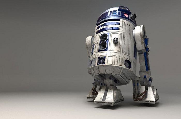 Роботы, непохожие начеловека: R2D2 из&nbs...