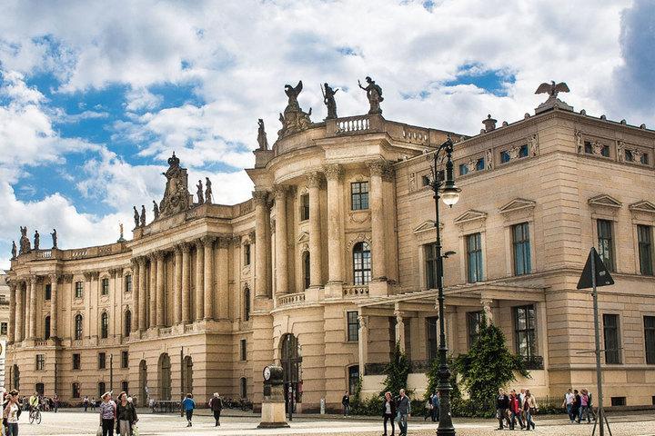 Письмо № 107, *из Берлинского университета имени Гумбольдта*