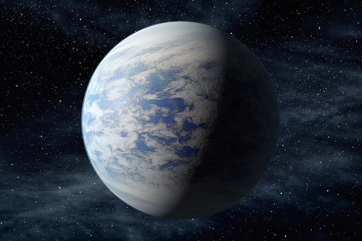 Последняя изнайденных экзопланет Kepler 6...