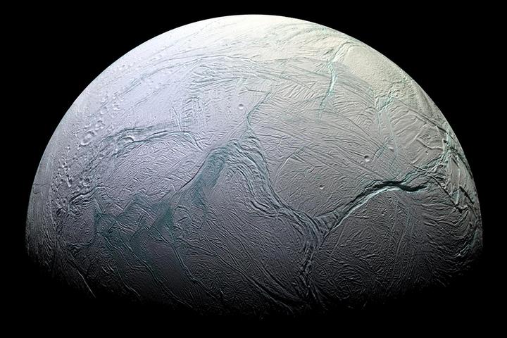 Энцелад, спутник Сатурна— только на...
