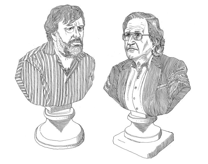 Несостоятельность: *чего не хватает в споре Жижека и Хомского*