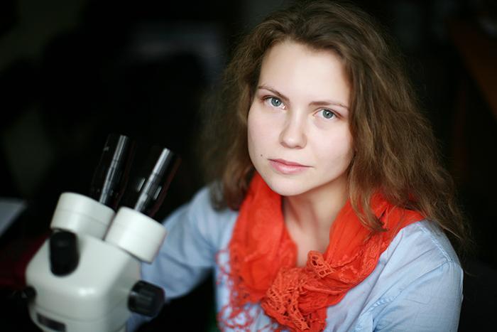 Молодые ученые: *археолог Лидия Зоткина*