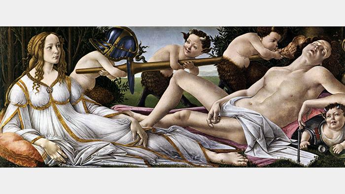 Боттичелли, «Венера иМарс»