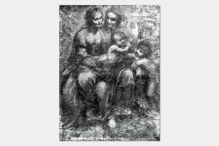 Леонардо ДаВинчи, «Мадонна смладенц...