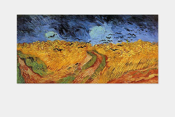 Ван Гог, «Пшеничное поле своронами»