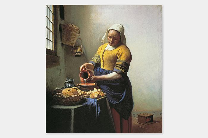 Вермеер, «Служанка скувшином молока»