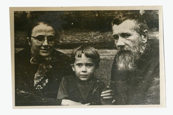 Андрей Синявский, Мария Розанова ссыном. ...