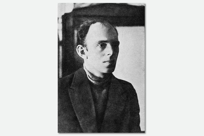 Осип Мандельштам. Москва, 1923