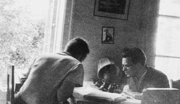 Андрей Колмогоров иА.М.Яглом, Комар...