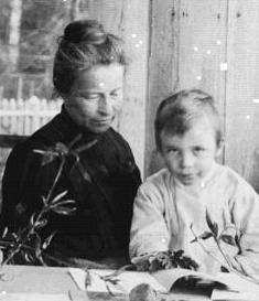 Стетей Верой Яковлевной, 1909год