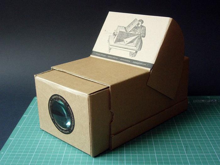 Самодельная камера-обскура