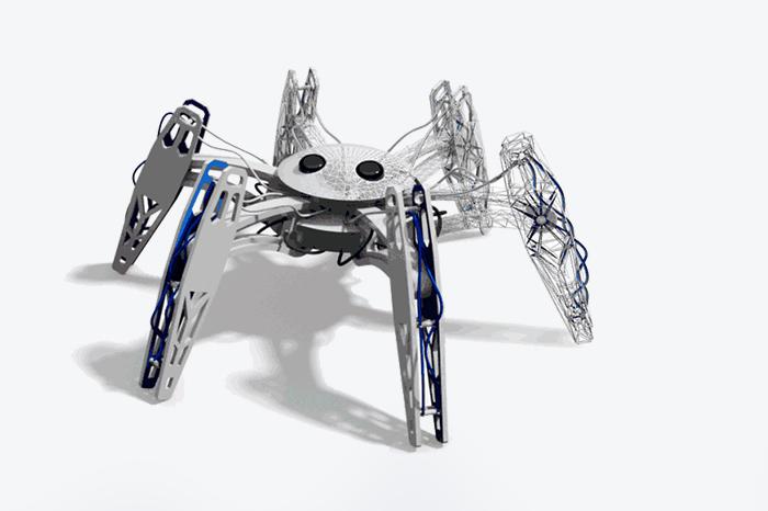 Искусство прототипа: *как сделать робота-паука за один день*
