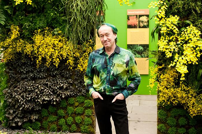 Чудо света своими руками: *биолог Патрик Бланк о том, как вырастить вертикальный сад*