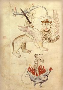 Иллюстрация Великого голода из«Библии бед...