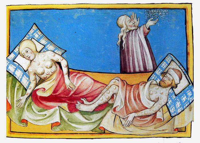 Иллюстрация «Черной смерти» изТоггенбургс...