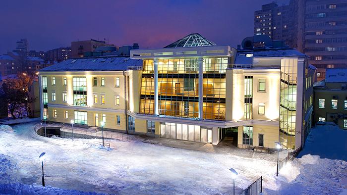 здание церкви саентологии вМоскве