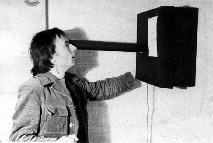 Андрей Монастырский, объект «Пушка», 1975