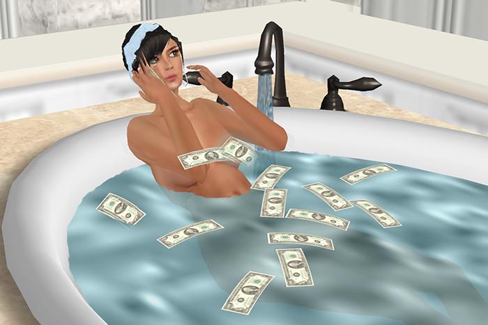 Двойная жизнь: *как зарабатывать деньги, заниматься наукой и помогать людям в Second Life*