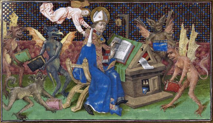 Saint Augustine, 'La Cité de Dieu'