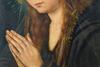 Virgin in prayer by Quinten Massijs