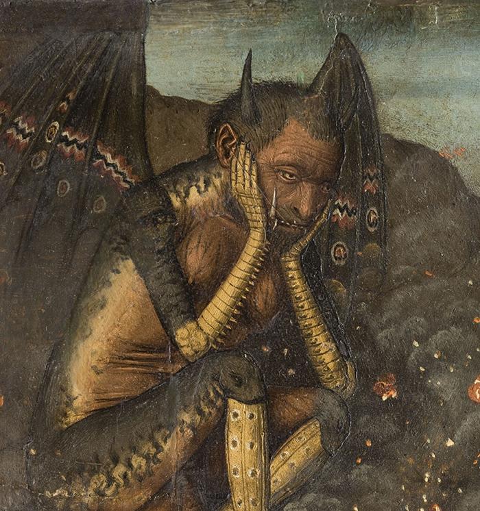 Descent of Christ into Limbo, c.1475. Bar...