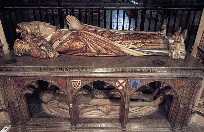 Надгробие архиепископа Кентерберийского Генри Ч...