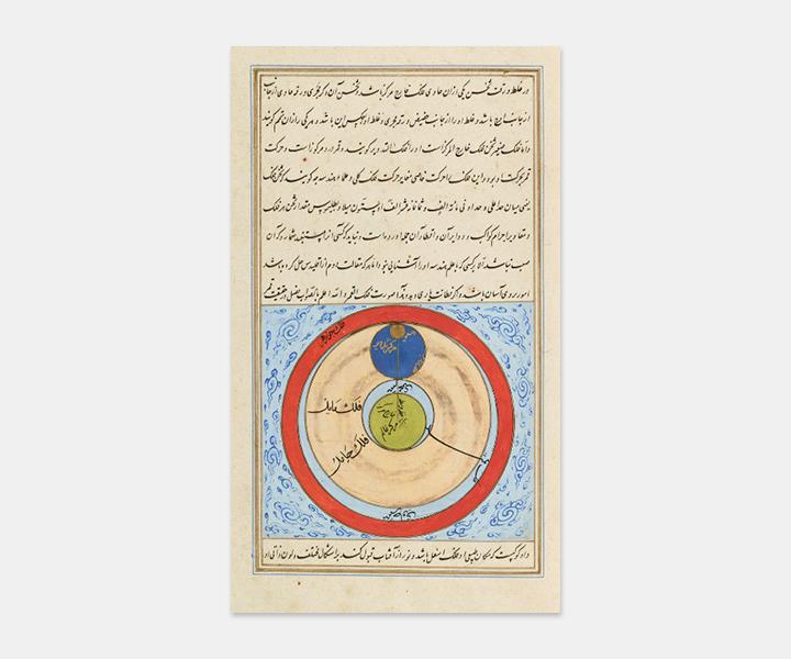 фрагменты изманускрипта «Космография»