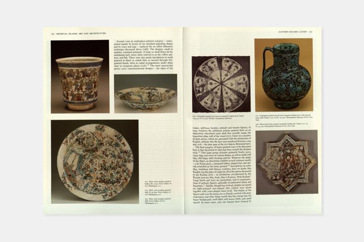 разворот книги Islamic Art and Architecture, 65...