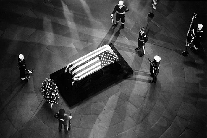 похороны Джона Кеннеди, © Flip Schulke