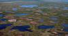 пересыхающие озера впарке Вапаск, Канада,...