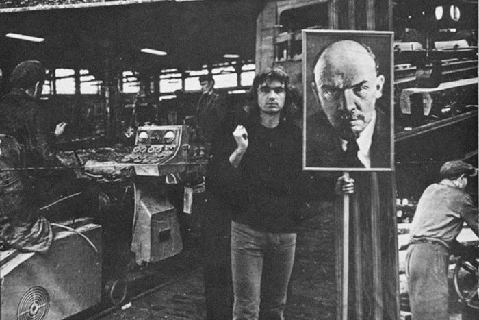 Балинт Сомбати, «Ленин вБудапеште», 1972