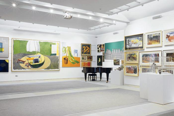 Первый опыт: стажировка в галерее Паллант Хаус