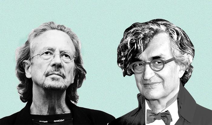 Находка T&P: *дискуссия Вима Вендерса и Петера Хандке*