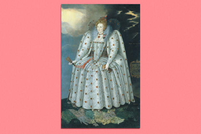 Ditchley portrait of Elizabeth I, attributed to...