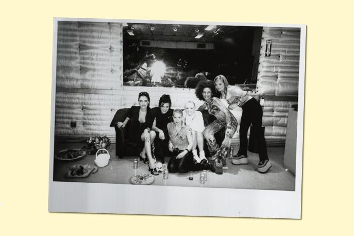 Находка T&P: *встреча Кэти Акер со Spice Girls*