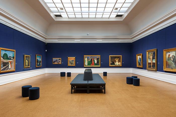 Находка T&P: *Мунк и другие художники в интерактивной коллекции Национального музея Осло*