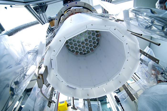 Большой подземный ксеноновый детектор Lux Dark ...