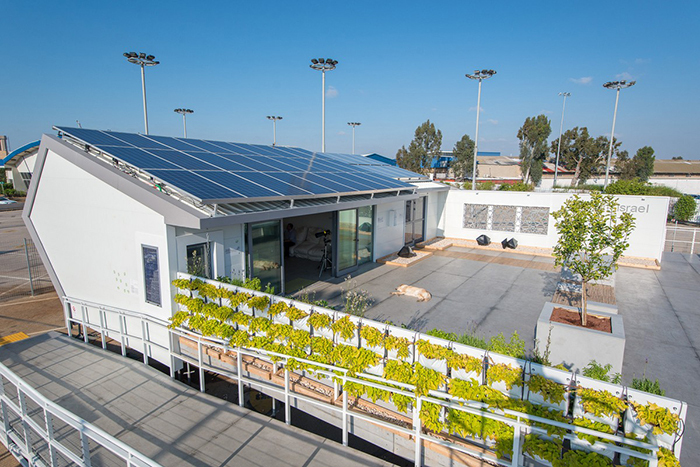 Team Israel's Net Zero Energy Building