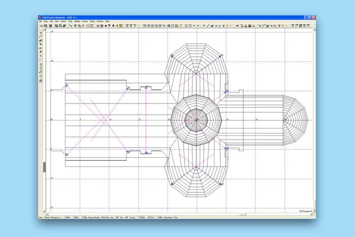 Схема размещения акустических систем инап...